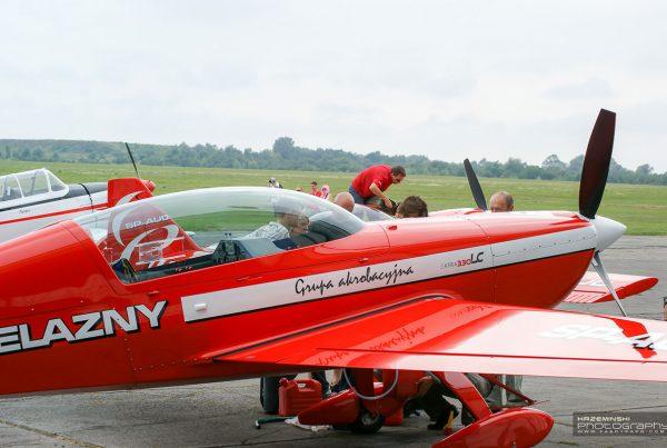 Aeroklub Gliwicki - pokazy akrobatyczne