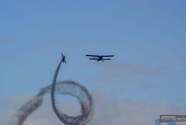 Aeroklub Gliwicki - samolotowe pokazy akrobatyczne