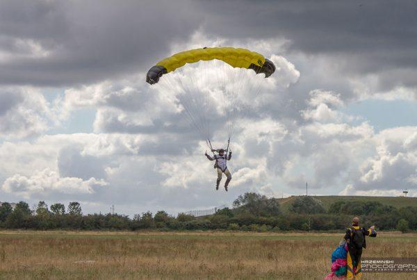 Aeroklub Gliwicki - skoki spadochronowe
